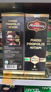 Madu propolis hitam kebutuhan rumah tangga makanan minuman 11343475