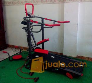 Treadmill manual 6 fu olahraga peralatan fitness 11359941