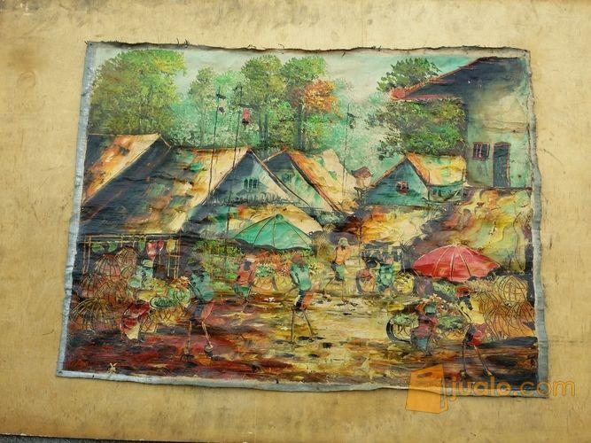 Lukisan motip pasar hobi lainnya 11442935