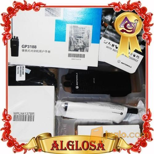 HT Motorola GP3188   GP 3188 (11450167) di Kota Jakarta Barat
