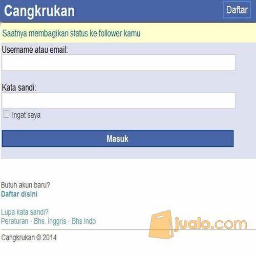 Script Jejaring Sosial Mirip Facebook Themes Jcow Premium (11464117) di Kota Surabaya