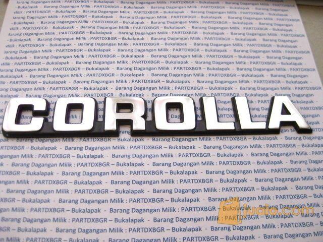 Emblem logo corolla u mobil aksesoris mobil 11488505