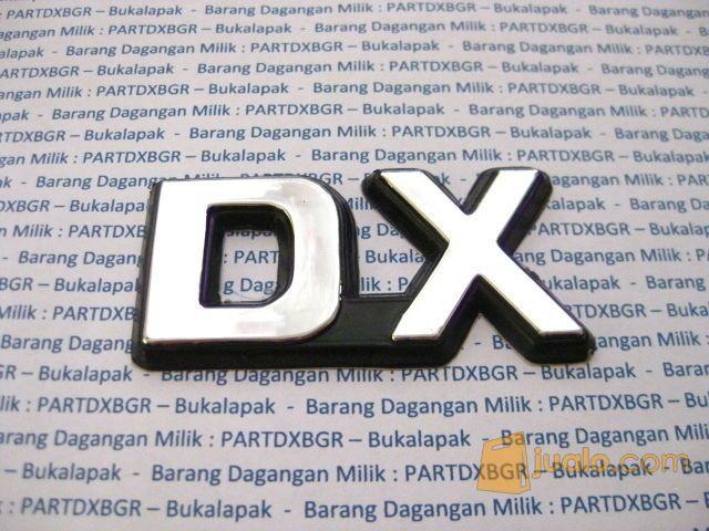 Emblem logo dx untuk mobil aksesoris mobil 11488711