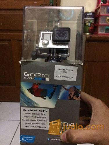Gopro hero 4 silver fotografi kamera lainnya 11520913