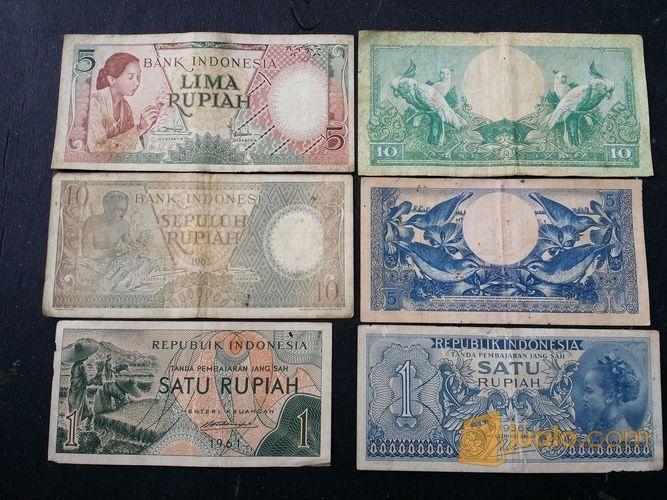 Uang Kertas Lama Campur (11647821) di Kota Jakarta Barat