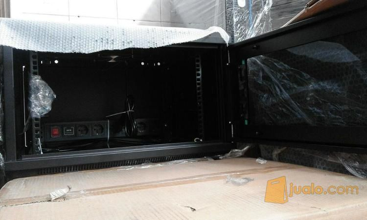 """Raja Rack - 19"""" Wallmount Rack 6U Depth 500mm Ready Banyak Di Sumber Rejeki (11684141) di Kota Surabaya"""
