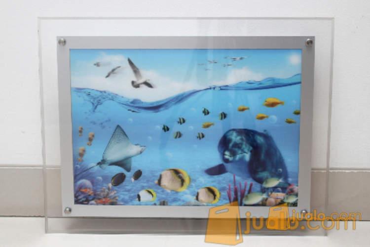 Bingkai Foto/ Photo Frame/Lightbox LED Acrylic A3 (1169002) di Kota Jakarta Barat