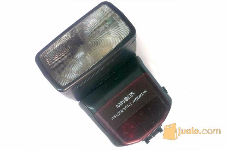 Flash minolta 3500xi fotografi perlengkapan kamera pro 11707895