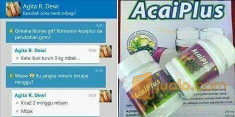 Acai Plus (Penurun Berat Badan - Pelangsing? Herbal - Diet) (11718197) di Kota Jakarta Barat