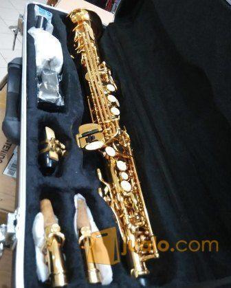 Soprano saxophone ost alat musik alat musik tiup 11718725