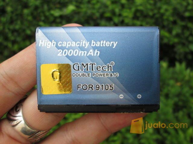 Baterai Blackberry FM1 Buat 9105 9100 Merk GMTech With IC Protect 2000mAh (11728825) di Kota Jakarta Pusat