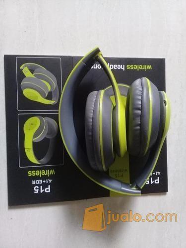 Headphone Musik Wireless P15 (Super Bass) (11792815) di Kota Surabaya