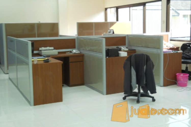 Furniture Semarang - Meja Kerja Sekat Kantor - Knockdown (1184700) di Kota Semarang