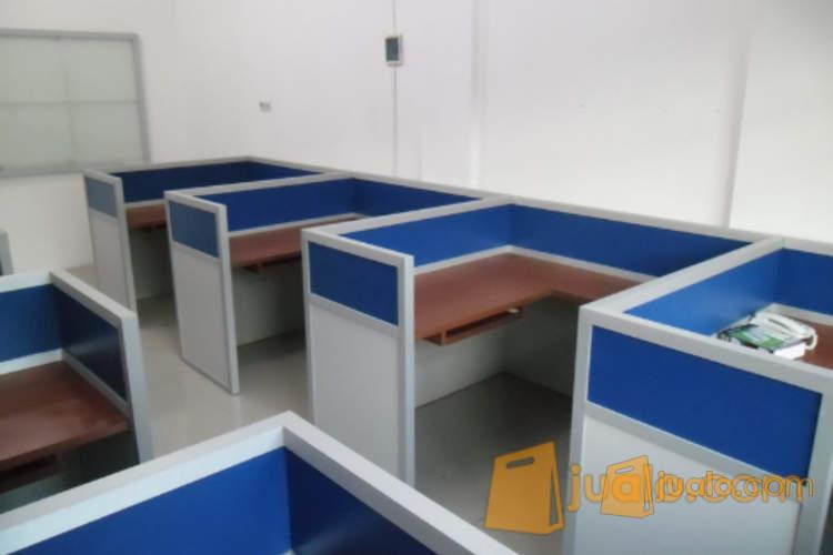 Furniture Semarang - Cubical Meja Kantor Knock Down Bisa Bongkar Pasang (1184707) di Kota Semarang