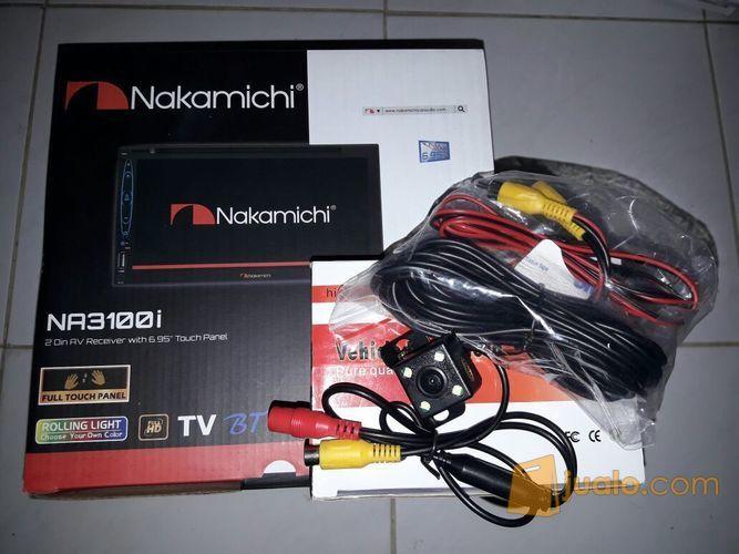 Doble Din Nakamichi NA3100i & Camera Mobilio Brio Avanza Xenia (11987121) di Kota Surabaya