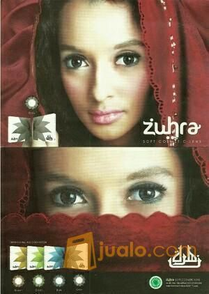 Softlense Zuhra Exotion Ber MUI (12116675) di Kota Surabaya