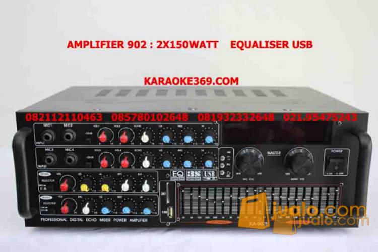 amplifier karaoke ka- 902 (1226494) di Kota Jakarta Selatan