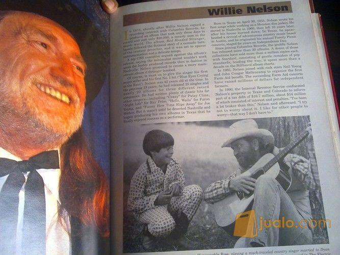 Buku Vintage 1993 Biografi & Edisi Photo Artis Legend Musik Country Dunia Super Komplit (12291389) di Kab. Semarang
