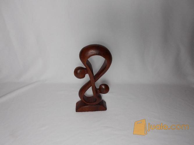 Patung kayu s abstra kebutuhan rumah tangga dekorasi rumah 12302927