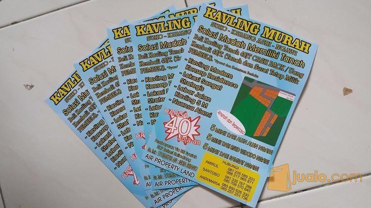 Brosur Full Color 1 Sisi 2 Sisi Produk Perusahaan (12358213) di Kota Surabaya