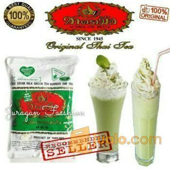 Thai green tea number kebutuhan rumah tangga makanan minuman 12384517