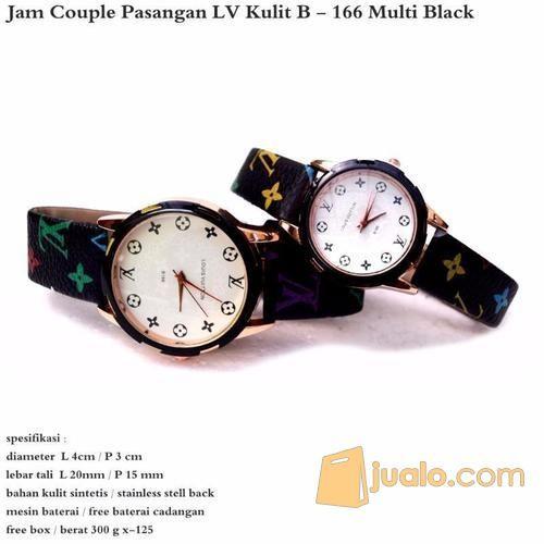 Jam Tangan Couple LV MultiBlack Best Seller (12420537) di Kota Jakarta Timur