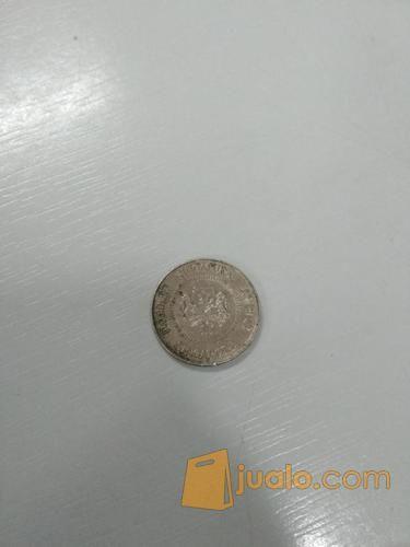 Gambar Uang Koin Singapura Uang Koin Singapura 10 Cent Tahun 1990 Padang Jualo