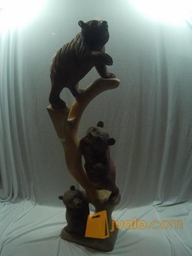 Patung beruang 1m kebutuhan rumah tangga dekorasi rumah 12435665