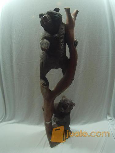 Patung beruang 80cm kebutuhan rumah tangga dekorasi rumah 12435743