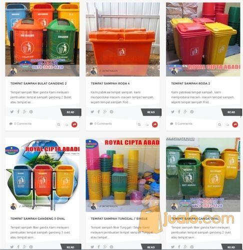 Baerbagai Macam Tong Sampah Kami Produksi (12483449) di Kota Bekasi
