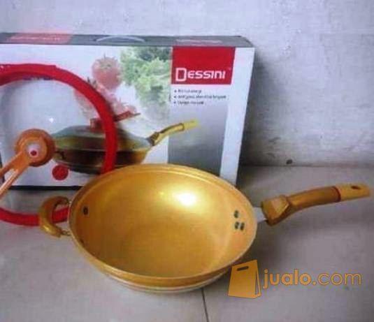 Panci Golden Dessini Semi Presto 2 In 1 Panci Wajan Masak Anti Lengket (12495263) di Kota Jakarta Pusat