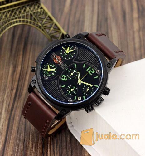 Jam tangan sport cron mode gaya pria 12579285