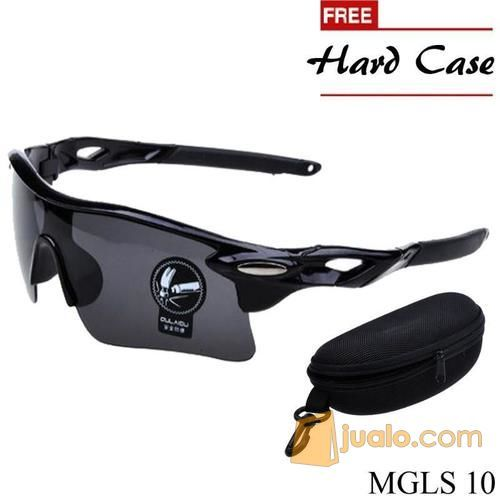 Kacamata Sport Pria Polycarbonate Hitam MGLS 10 (12584971) di Kota Tangerang