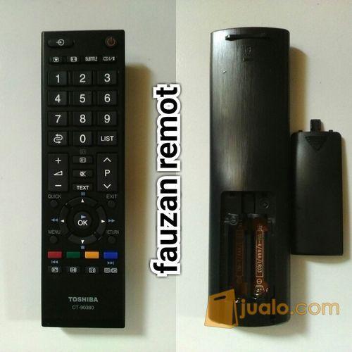 Remot remote tv toshi elektronik peralatan elektronik 12733277