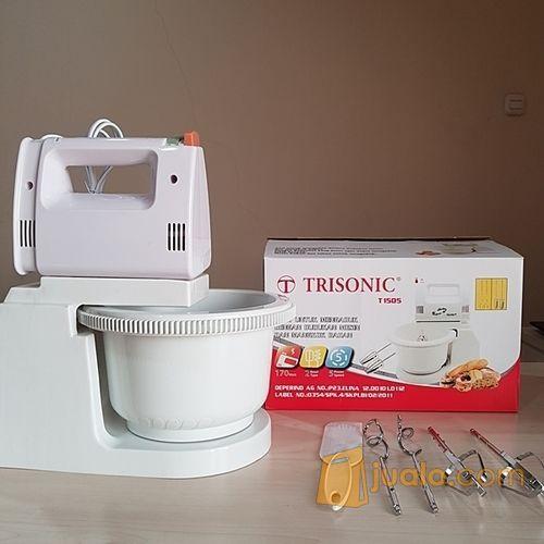 Stand mixer trisonic rumah tangga alat dapur 12798299
