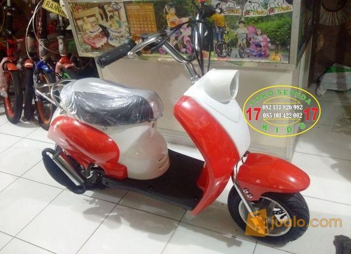 Scoopy Vespa Mini Lucu Imut Kuat Mesin Bensin Kab Bantul Jualo