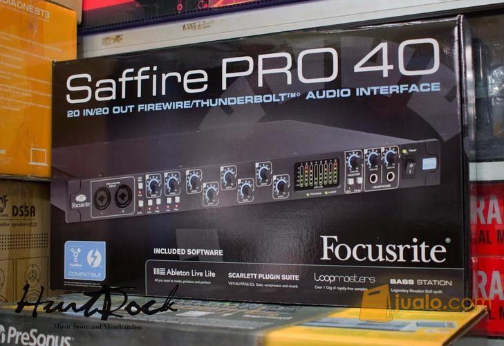 Focusrite saffire pro alat musik lainnya 12858591