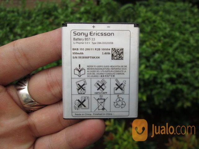 Baterai Sony Ericsson BST-33 Original Buat K800 P990 M600 950mAh (12924943) di Kota Jakarta Pusat