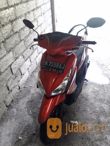 Sepeda Motor Honda Vario F1 Tahun 2014 Warna Merah Denpasar Jualo