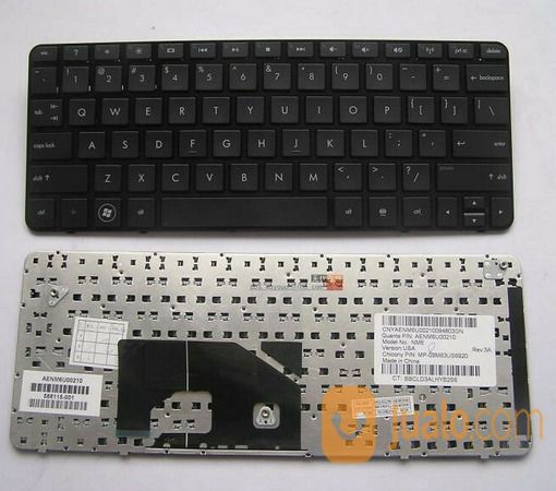 Keyboard hp mini 210 komputer keyboard mouse 12961955