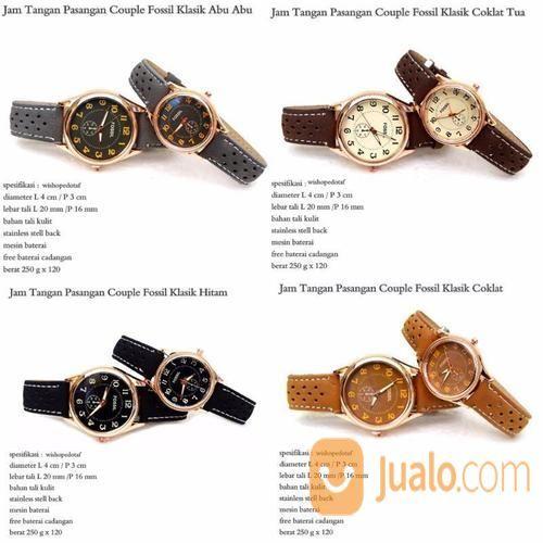 Jam Tangan Couple Klasik FSL (12978663) di Kota Jakarta Timur