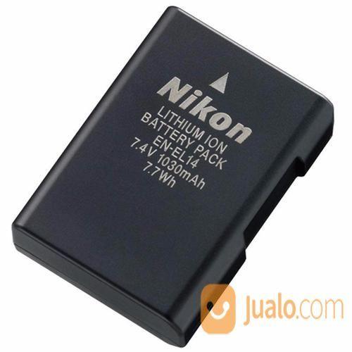 Battery Nikon EN-EL14 (13013503) di Kota Surabaya