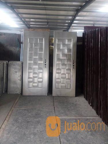 Pintu Rumah Sederhana, Pintu Rumah Model Baru, Pintu Rumah Masa Kini, (13027251) di Kab. Tangerang