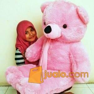 Boneka Lucu Teddy Bear Yang Besar Warna Krem Sangat Lembut Untuk Di Peluk Jakarta Pusat Jualo