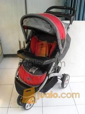 1367235231 506118721 1 Gambar  Stroller Pliko Milano Merah