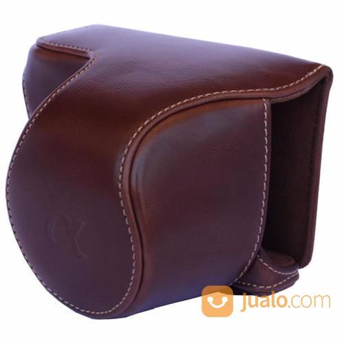 Leather Case Kamera Mirrorless Sony A6000 Dark Brown (13090953) di Kota Surabaya