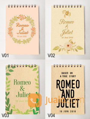 Notes Promosi, Notes Cutom , Souvenir Wedding (13096525) di Kab. Sidoarjo
