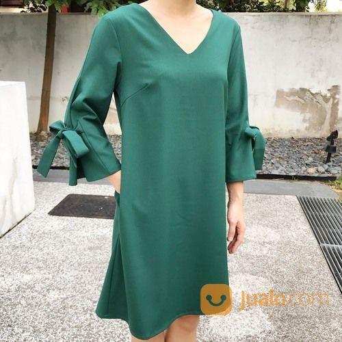 Baju casual dress pet mode gaya wanita 13117039