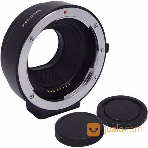 Electronic Lens Mount Adapter Meike Canon EF & EF-S Lens To Canon EOS M Camera (13166161) di Kota Surabaya