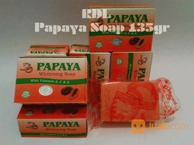 Sabun Papaya New Rdl Berhologram Asli Sabun Pembersih Wajah Penghilang Flek Kab Kep Seribu Jualo
